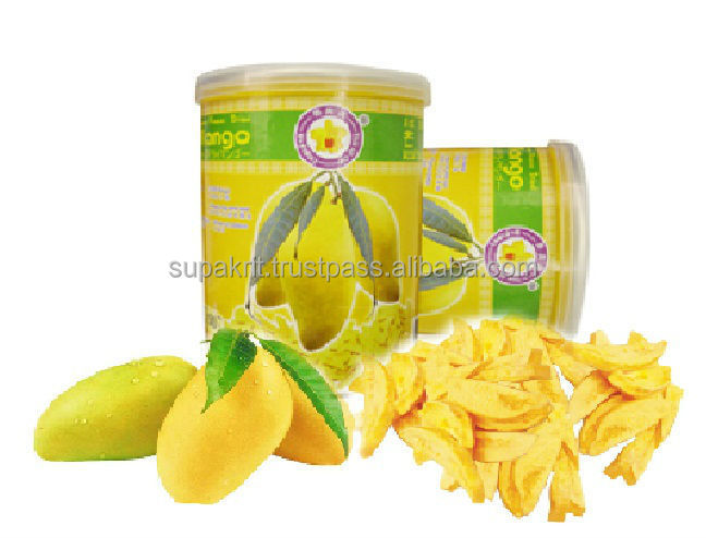 Gel mangue séchée 20 g fruits collation haccp, Iso 22000, Gmp, Halal, Casher certifié