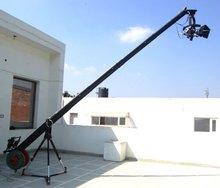 Octogonal 16ft foque de la cámara del brazo de la grúa + 100mm tazón de pie para la película de películas de