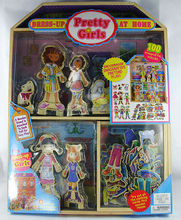 Pretty Girls Magnetic Dress-up Set