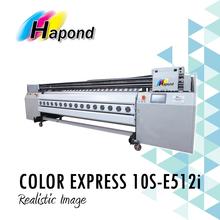 COLOR EXPRESS 10S-E512i Konica 512i print head, 3.2 wide format solvent inkjet printer