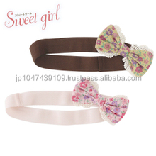 Japanese wholesale products high quality cute infant headbands hair baby accessories headband for toddler clothes kids clothing