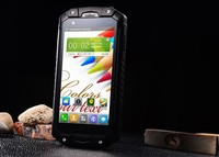 cheap big screen smartphone 4.5inch IP68 rugged mobile dual SIM dual standby 3g android 4.4 smartphone shockproof 2015