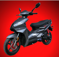(GP Fight) 2015 NEW DOT EPA gas scooter for sale low cost 14inch tire gas scooter moped EEC 125cc (PEDA MOTOR)