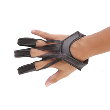 Soft Leather Archery Shoot Gloves And Arrow Bow Hunting Shooting