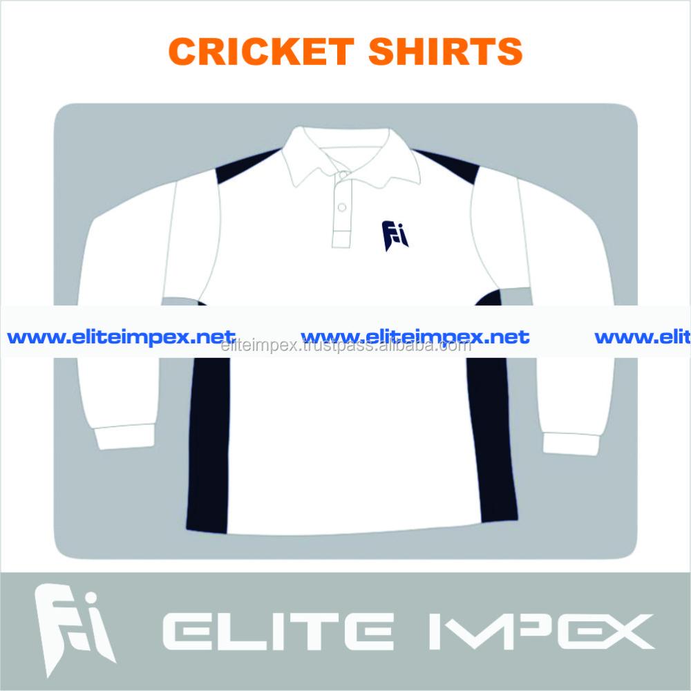 özel tasarım <span class=keywords><strong>kriket</strong></span> 3/4 kollu gömlek
