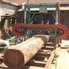 portable horizontal diesel saw mill machine