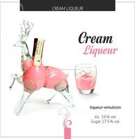 Natural, Sweet, Flavored, Cream Liqueur. Yo Brand, Gift package,