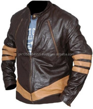 Wolverine Leather Jacket - fameleathers sialkot pakistan