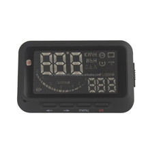 Mini Car Head Up Display Vehicle-Mounted HUD Speeding Warning car System HUD Projector Insert OBD II F02 Newest free shipping