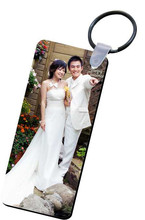 Creative Gift for Promotion Personalized Blank Sublimation Keyring/Keytag