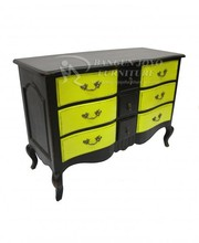 Soild wood finish Chest with drawers