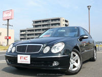 Right hand drive and Good looking used benz Mercedes-Benz E-Class 2002 used car