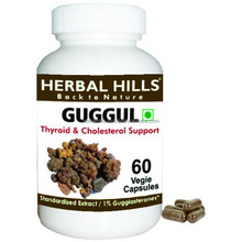 Herbal Guggul tablets for Thyroid and cholesterol support