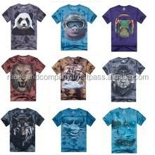 customized top quality funny men 3d printing t shirts /mens slim fit t-shirts/tee shirts/tshirts /gym t shirt/ Printing t shirts