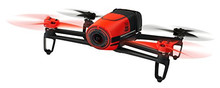 Latest Parrot PF725100 BeBop Drone 14 MP Full HD 1080p Fisheye Camera SkyController Bundle