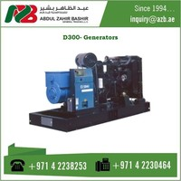 D300 IV Diesel Generators With Large Cooling Power