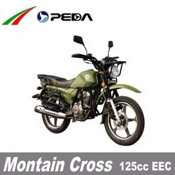 (PEDA Motor) 2015 Hot Sale 125cc EEC Cross Motorocycle Dirtbike Enduro for Sale COC big fuel tank18 inch tire (Montain Cross)