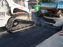 Mini asphalt paver finisher attachment Pavijet MG7