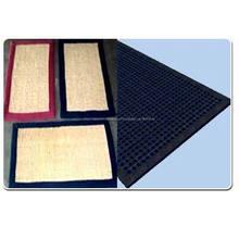 Esteras de coco, alfombras de goma& geo textiles