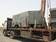 Air Conditon unit trailer mounted with generator built in