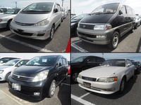 Japanese toyota used car low price for irrefrangible accept orders from one car