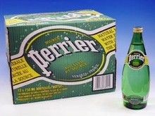 Best French Perrier Natural Mineral Water 750ml