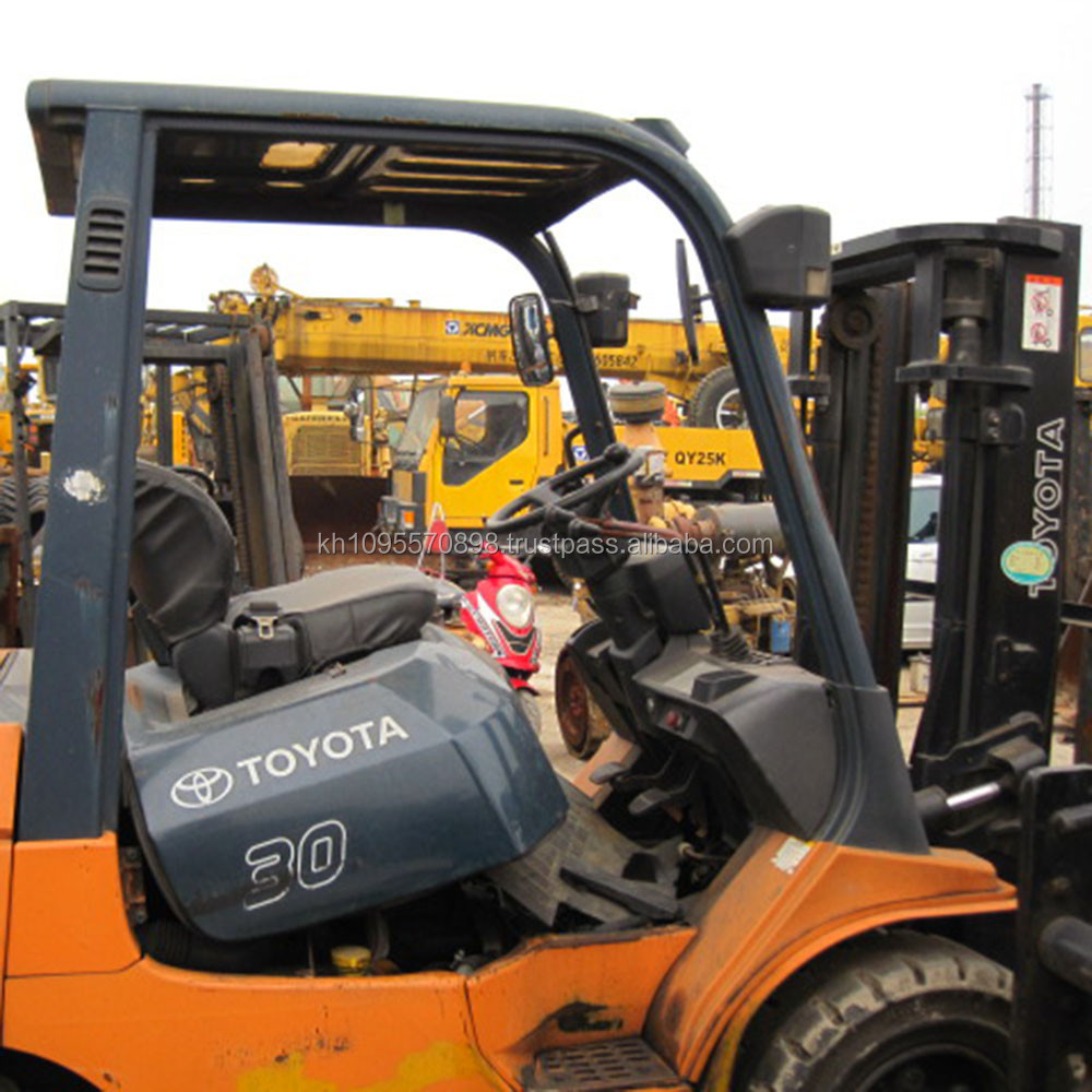 Toyota Forklift For Sale: Used Toyota 7fbcu 30 Forklift,Cheap Forklift For Sale In