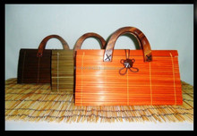 Bamboo Handbag ,Bamboo bag ,Handmade bamboo bag Original design Thailand $3.50
