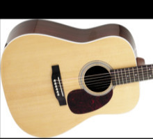 Martin Custom MMV Solid Wood Dreadnought Rosewood/Sitka Acoustic Guitar (Natural)