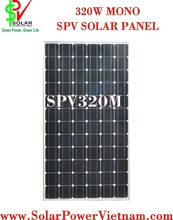 Best price SPV 320W monocrystalline solar panel