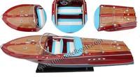 RIVA TRITONE Wooden Boat Models
