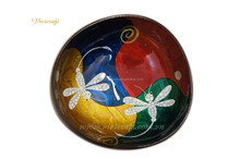 Delightful coconut bowl real material for food lacquer inspired vietnam coconut shell bowl cheap price and good quality