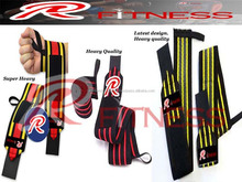 Low price high quality durable weightlifting wrist wraps