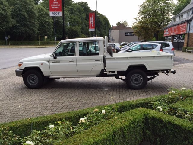 Ref 1796 toyota land cruiser 79 pick up 4 2l l hzj 79 double cabin stretched brand new buy