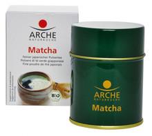 Arche Natural cuisine Japanese green tea Matcha, fine powdered