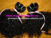 Unprocessed Indian Remy 100 Virgin Indian Curly Hair