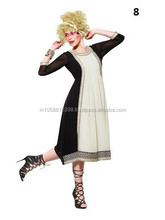 Splended Black Georgette Kurti