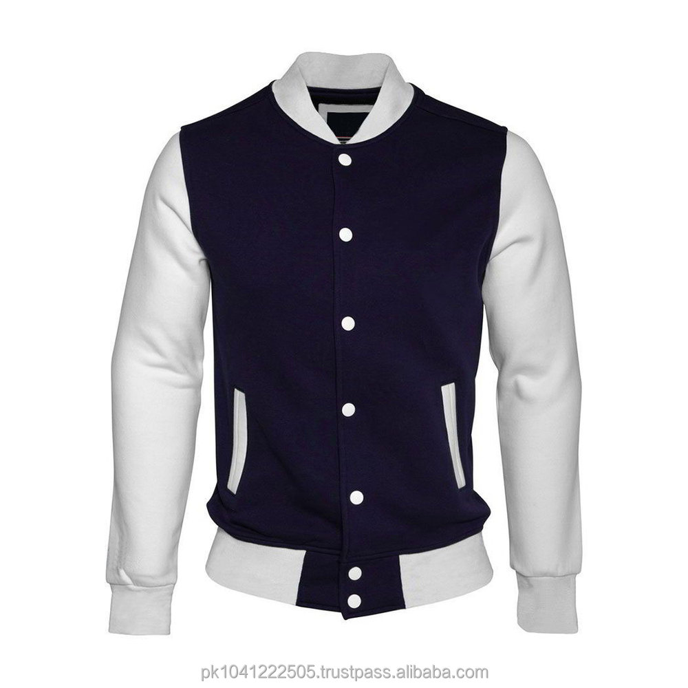Custom letterman jackets cheap cardigan with buttons
