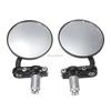 Pair 7/8 inch Motorcycle Cafe Racer Bobber Bar End Mirrors For Honda /Suzuki /Yamaha /KTM /BMW Street bikes Sports