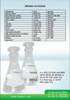 Refined Glycerine 99.5% ; Glycerol