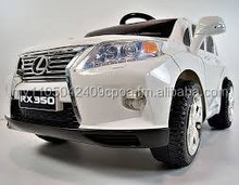 Electric Ride On Car For Kids LEXUS RX350 SUV - White - license from Lexus