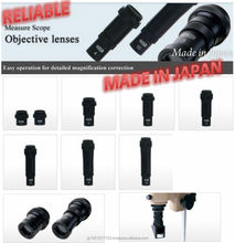 Japanese Durable and Reliable microscope objectives at low cost, ocular, stand, barrel and relative accessories also available