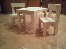 Wooden furniture for children