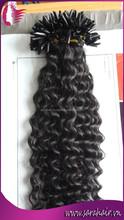 Fashionable Hair Styling Yaki Hair Extension Prebonded U-Tips Hair Made By SARAHAIR