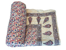 Good Quality Cotton Blanket COTTON VELOUR BLANKETS, AVAILABLE WITH CUSTOMIZED BRAND Quilts Soft Cotton printed Jaipur famous