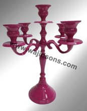 Table Top Powder Coated Candelabra By Wajidsons Corporation