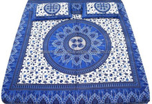 Printed Double Bedsheet hand made 100% cotton bed sheets