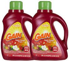 Ganancia 2X manzana MANGO TA 100 oz / Procter & Gamble lavandería producto