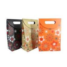 girasole di carta sacchetto di carta sacchetto di stampa con il vostro proprio disegno