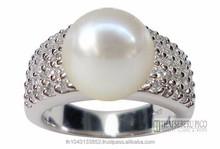 Akoya Pearl Ring Jewelry